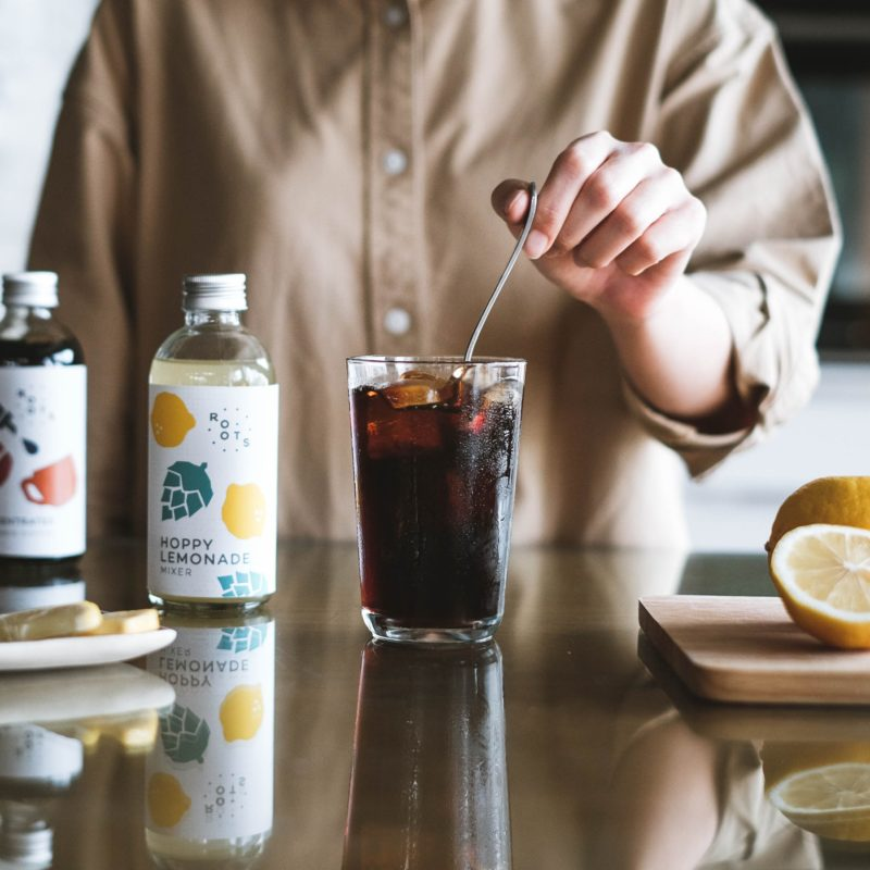 roots cafe cold brew coffee