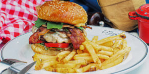 bistro burger at victoria by cocotte